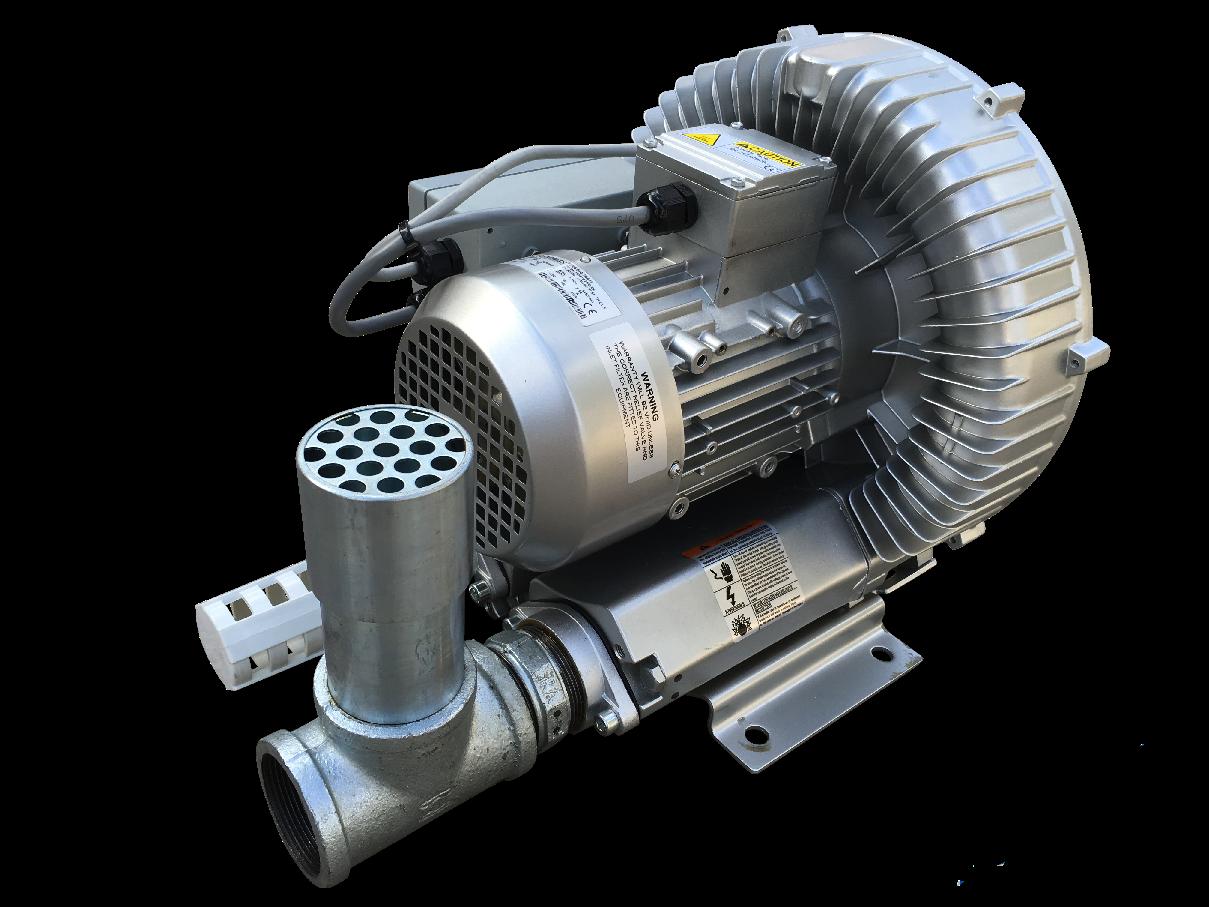Dynavac Commercial Side Channel Spa Air Blower 1 1kw