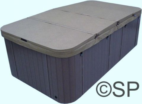 Thermal Spa Cover High Density 75kg 4 Section Long