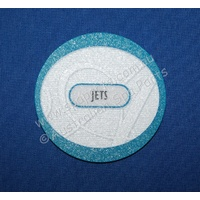 "Artesian Spas 2"" single touchpad overlay decal - suits Aeware In.K111"