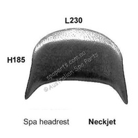 Neck Jet Spa Pillow Headrest