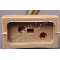 J&J One Speed Pump Receptacle Socket