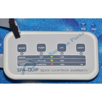 Spaquip 4 way Touchpad - Pulsar series