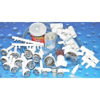 Waterway Spa Bath Plumbing System - 12 Jet Kit - 55mm & 38mm holes