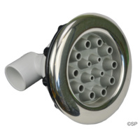 Waterway Master Massage Non Adjustable Jet with Stainless Steel Escutcheon