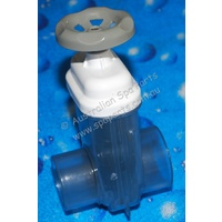 "Waterway 2"" Gate Valve 2"" S x 2"" Spigot"