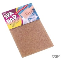 Spa Pad - crushed walnut spa cleaner pad