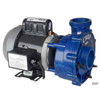 "Aquaflo CMXP Circ Master 2"" Circulation Pump 1/12th HP - 190w with AMP Balboa style plug - LARGER WET END SD6500-911"