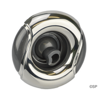 "CMP 400 Series 4"" typhoon jet internal - rotational - Wave Face stainless steel / graphite grey"