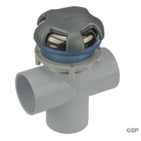 "CMP 2""  Diverter Valve - Crown Top - Stainless Steel / Silver"