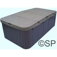 Thermal Spa Cover - 4 Section Swim Spa - High Density