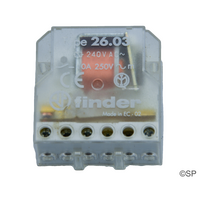 Finder Latching Step Relay - 2 pole NO/NC