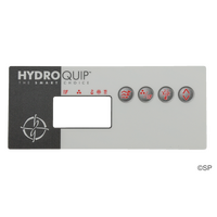 Hydroquip ECO-8 4 Button Rectangler Topside Panel Touchpad Overlay Decal