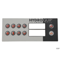 Hydroquip HT-2 10 Button Overlay Decal