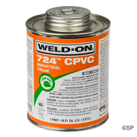 IPS Weld-On 724 CPVC Solvent Cement - 1 pint/473ml - Grey