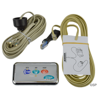 Onga Balboa Bathmaster Plus spa bath pump Touchpad Assembly, Pump Data Cable & Blower Adaptor Cable - Rectangular