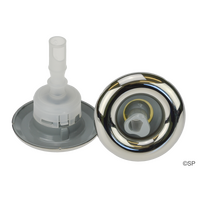 Pentair Micro Cyclone Adjustable Roto Swirl Jet Barrel with Stainless Steel Escutcheon
