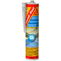 Sikasil Pool - Pool & Spa Silicon Adhesive / Sealant - Translucent
