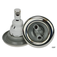 Waterway Power Storm 5 Point Scallop - Twin Roto - Grey w/stainless steel Escutcheon
