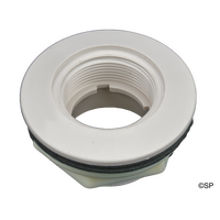 "Waterway Return Wall Fitting Assembly Complete - 1.5""FPT x 1.5""S - WHITE"