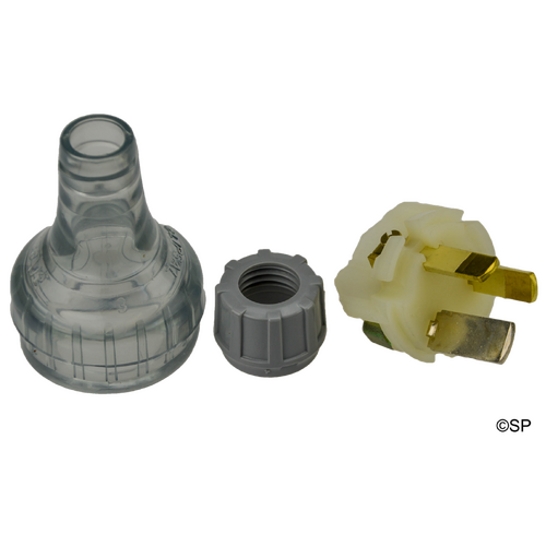 Clispal 3 Pin cat 38 plug top - 15A