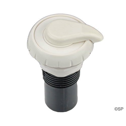 "Waterway 1"" Notched Air Control - White"